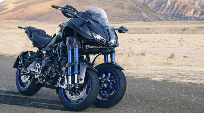 yamaha lan a moto com 3 rodas a niken derivada da mt 09 motonews brasil. Black Bedroom Furniture Sets. Home Design Ideas