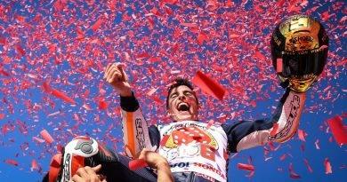 MotoGP: Marc Marquez sagra-se mais uma vez campeão mundial na corrida final em Valência