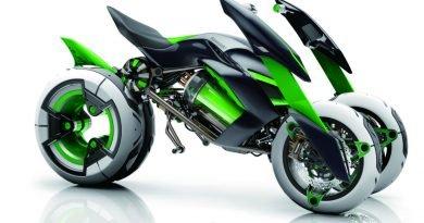 "MOTO DO FUTURO? Kawasaki divulga imagens do seu ""Concept J"" (Vídeo)"
