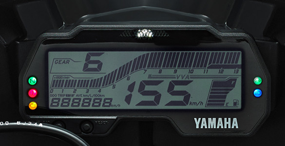Yamaha V-Ixion R painel