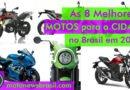 As 8 melhores motos e scooters para cidade no Brasil