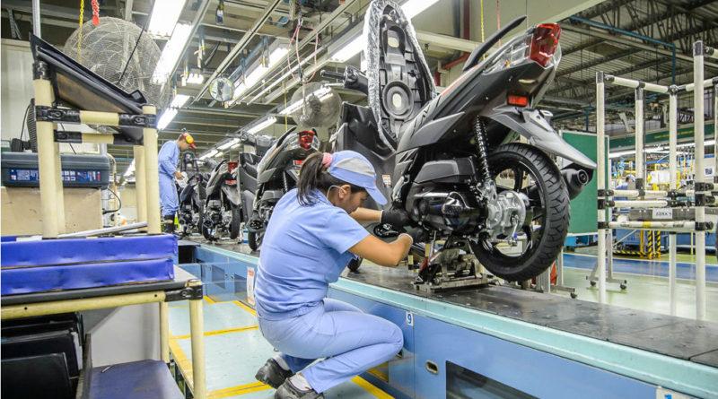 produção moto