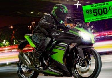 kawasaki promoção ninja 300