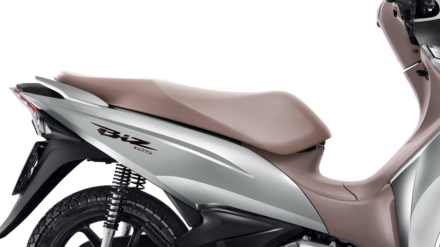Como é A Nova Honda Biz 125 2019 Que Veio Com Novas Cores E