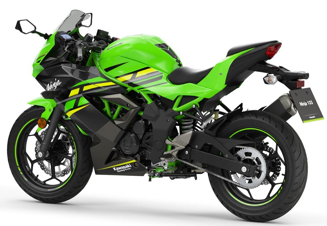 Kawasaki Z125 - 2019 - Blau Power Bikes