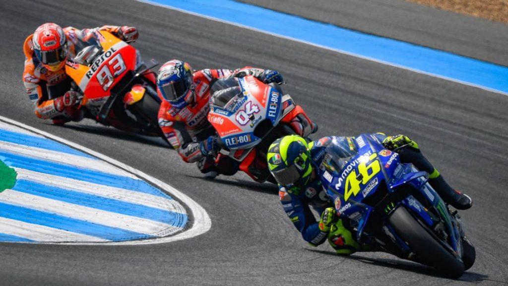MotoGP Tailândia 2018 Valentino Rossi