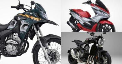 novas motos honda 2019