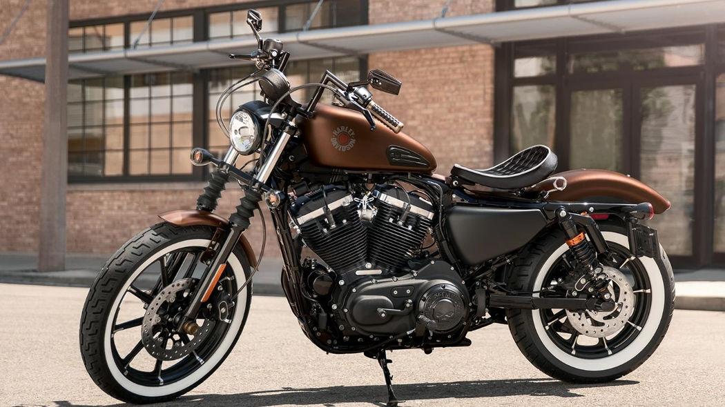 harley iron 883 customizada