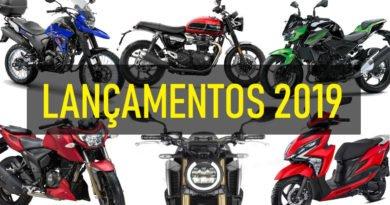 lançamentos motos 2019