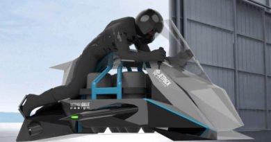moto voadora jetpack speeder