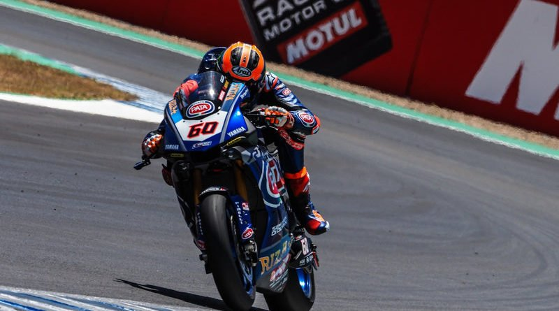 michael van der mark worldsbk jerez