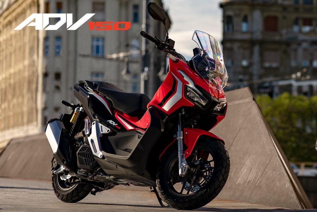 Novidade Honda Lanca Adv 150 Scooter Aventureira De 150 Cc Baseada Na X Adv Motonews Brasil