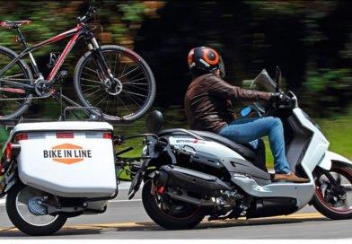 semirreboque mono roda para motos bike in line