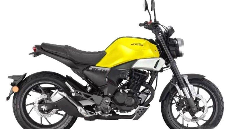 honda cbf 190tr amarela