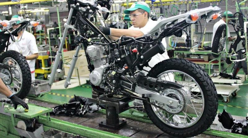 produção de motos