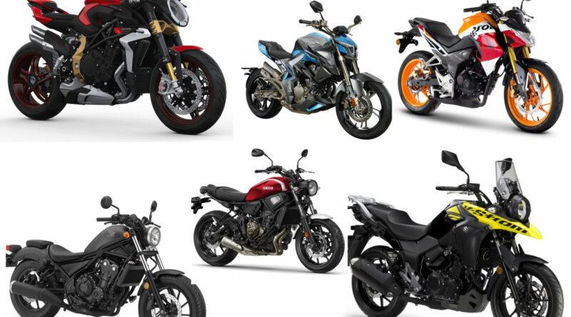 15 motos