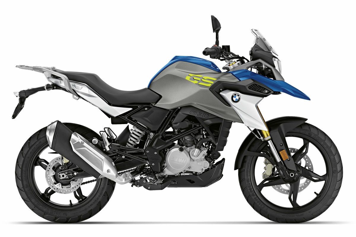 bmw g 310 gs 2020 azul