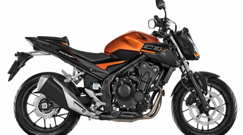 honda cb 500f 2020 laranja