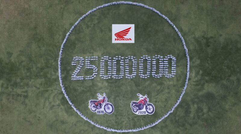 honda 25 milhões motos