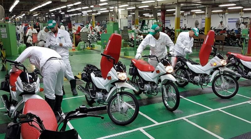 honda fábrica moto