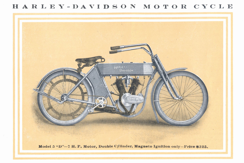 harley-davidson 1909 model 5-d
