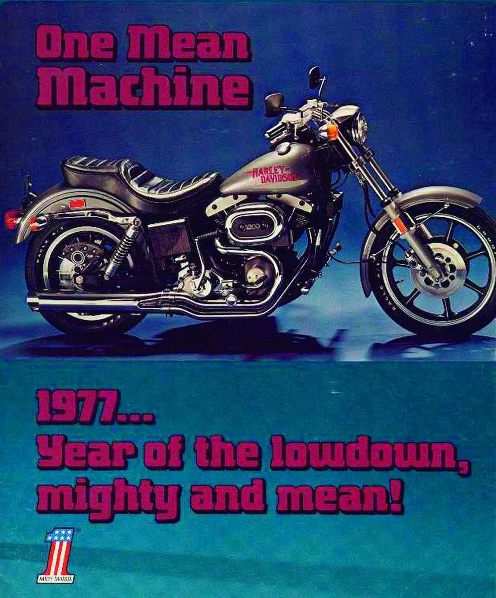 harley-davidson 1977 low rider