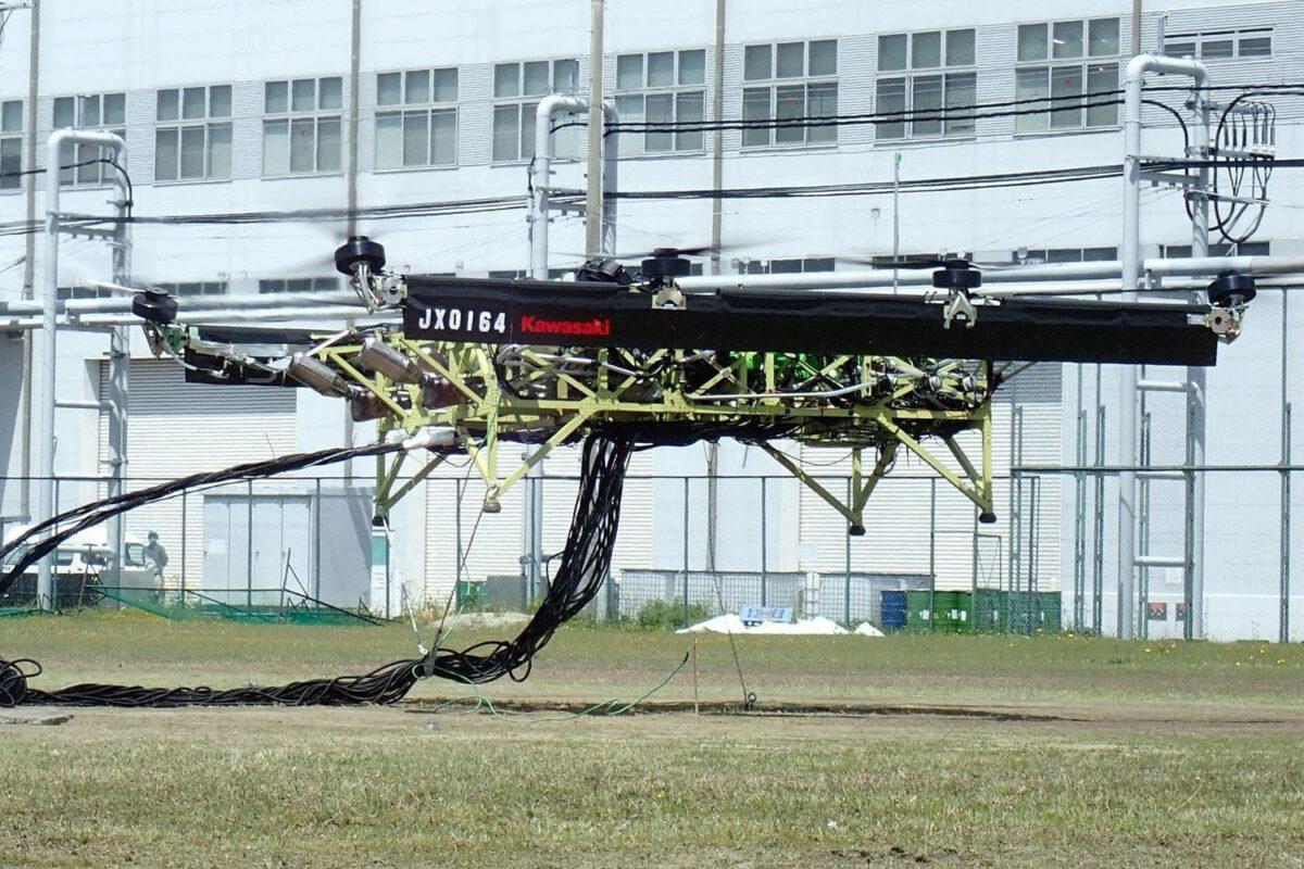kawasaki drone híbrido zx-10r