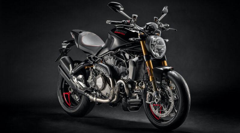 ducati monster 1200s black