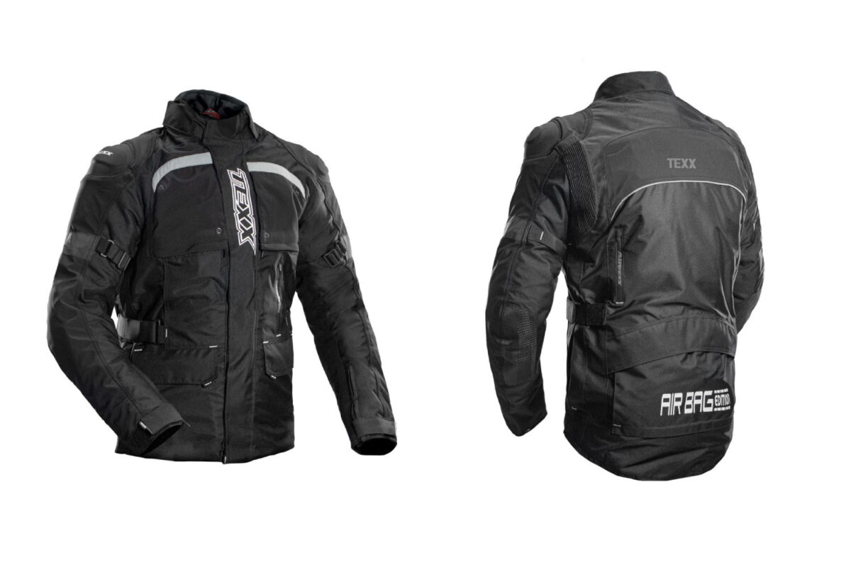 jaqueta texx armor black