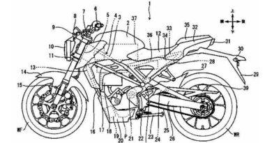 honda moto elétrica patente