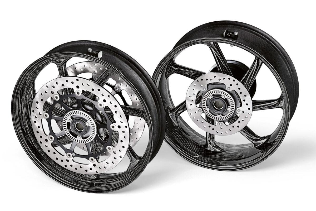 bmw s 1000 rr pacote m rodas fibra de carbono