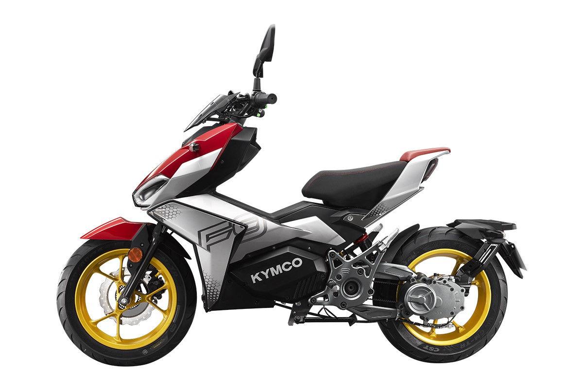 scooter elétrica esportiva kymco f9
