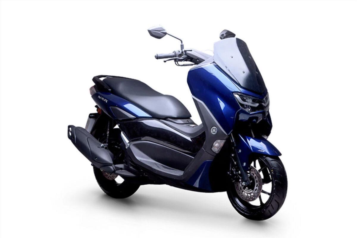 yamaha nmax 160 2021 frente azul