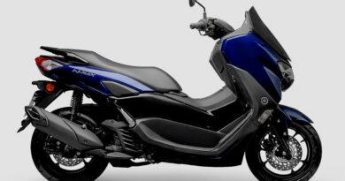 yamaha nmax 160 2021 lateral azul