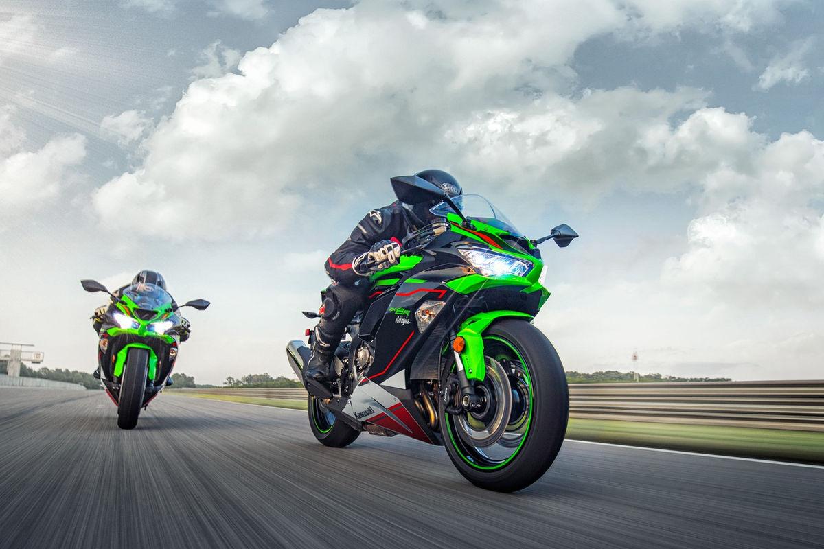 Kawasaki Ninja Zx 6r 2021 Chega Com As Cores Krt Motonews Brasil