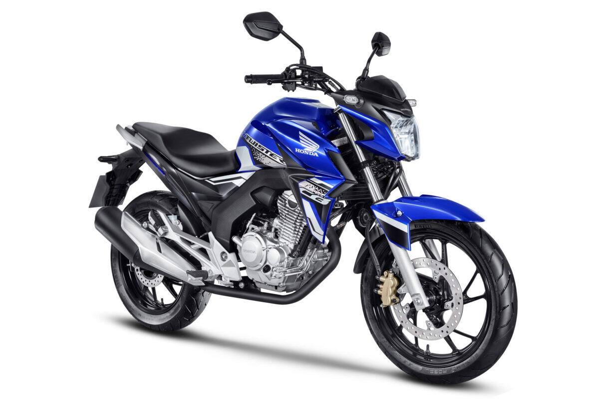 honda cb 250 twister 2021 azul