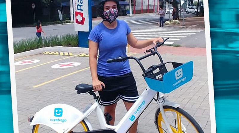 euentrego bicicletas elétricas