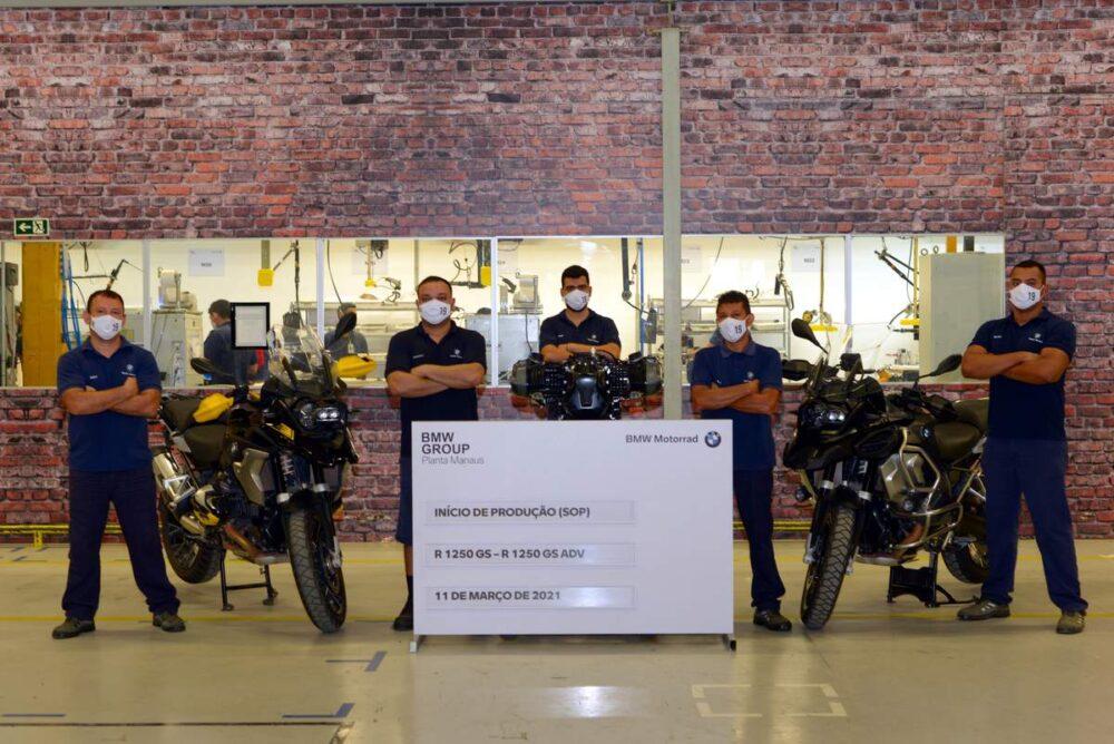 início produção motos bmw manaus edição 40 anos