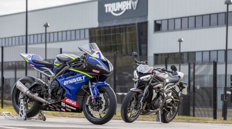 dynavolt triumph supersport