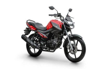 yamaha factor 150 2022 vermelha
