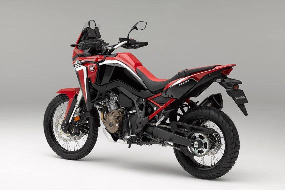 honda crf 1100l africa twin 2021 vermelha traseira