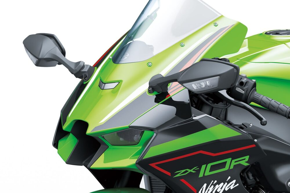 ninja zx-10r 2022 brasil krt detalhe frontal