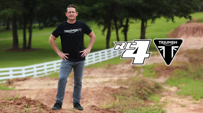 triumph motocross enduro ricky carmichael