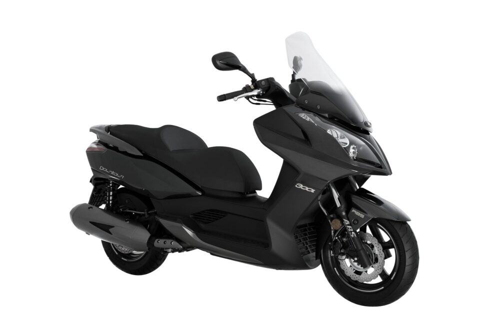 kymco downtown 300i abs 2021 cinza