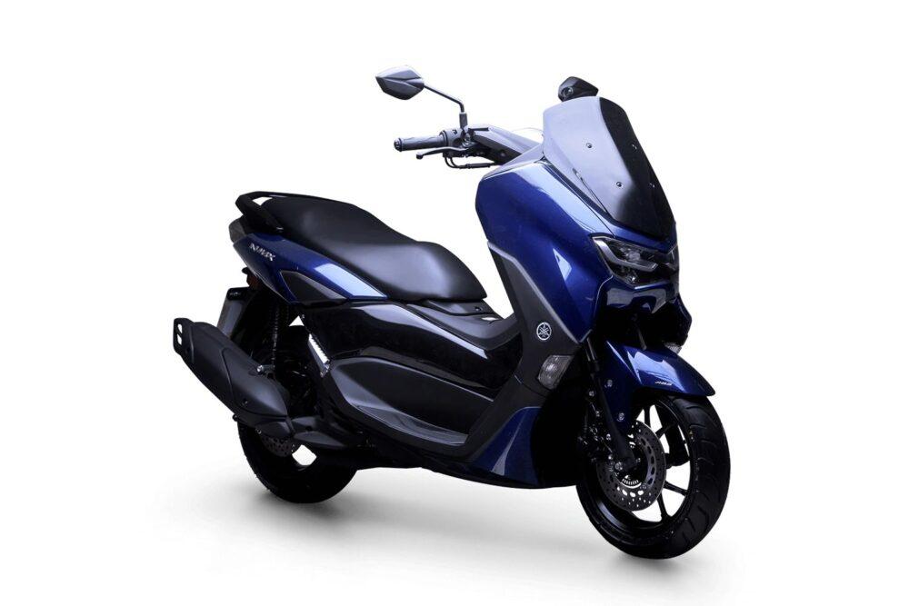 yamaha nmax 160 abs 2022 azul frente