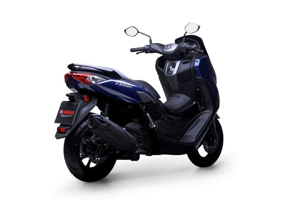 yamaha nmax 160 abs 2022 azul traseira direita