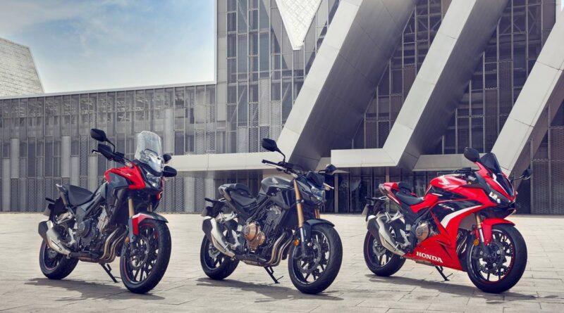 honda 500cc 2022 trio