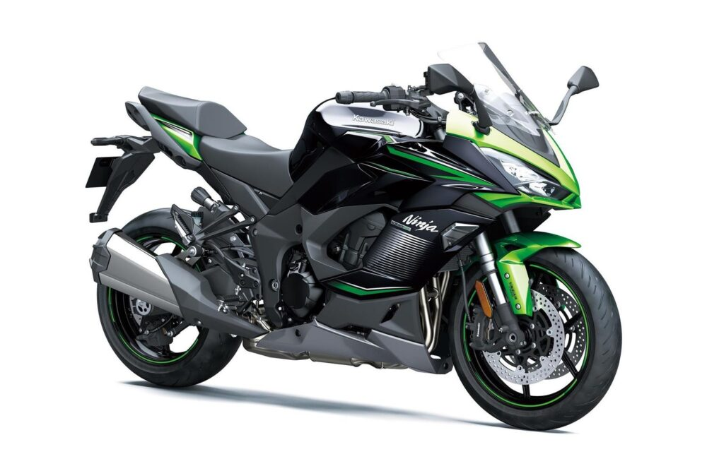 kawasaki ninja 1000sx 2022 verde