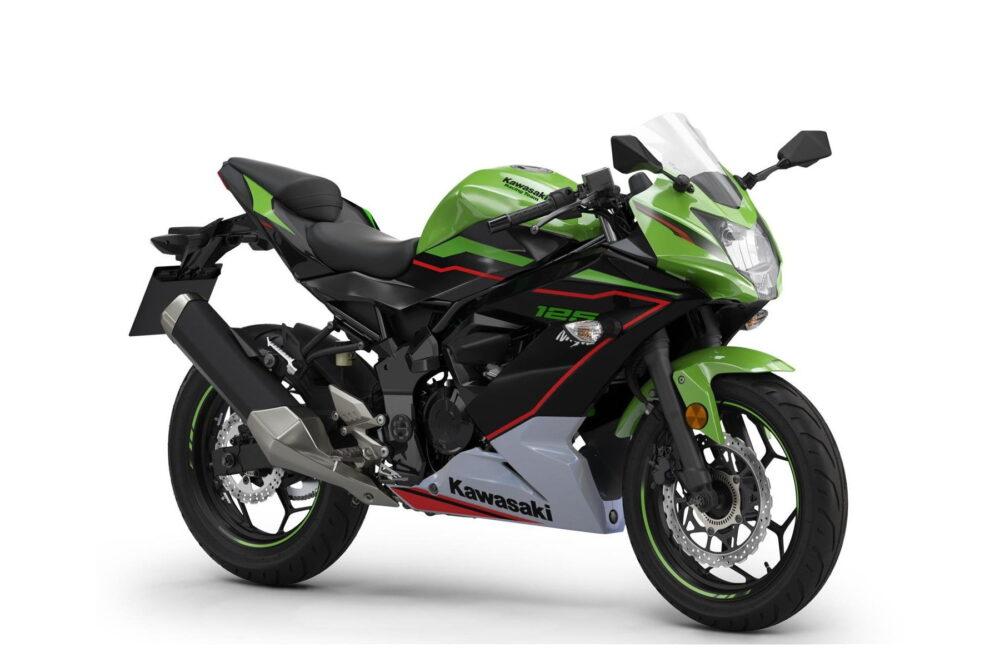 ninja 125 2022 verde frontal