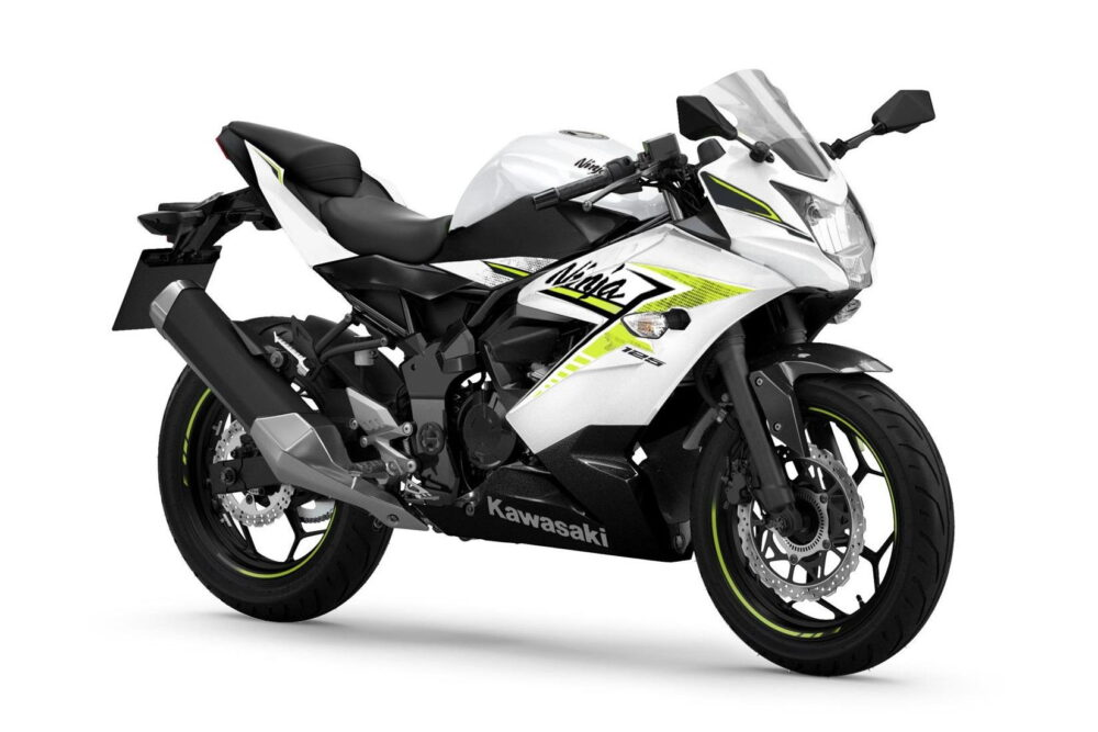 ninja 125 2022 branca